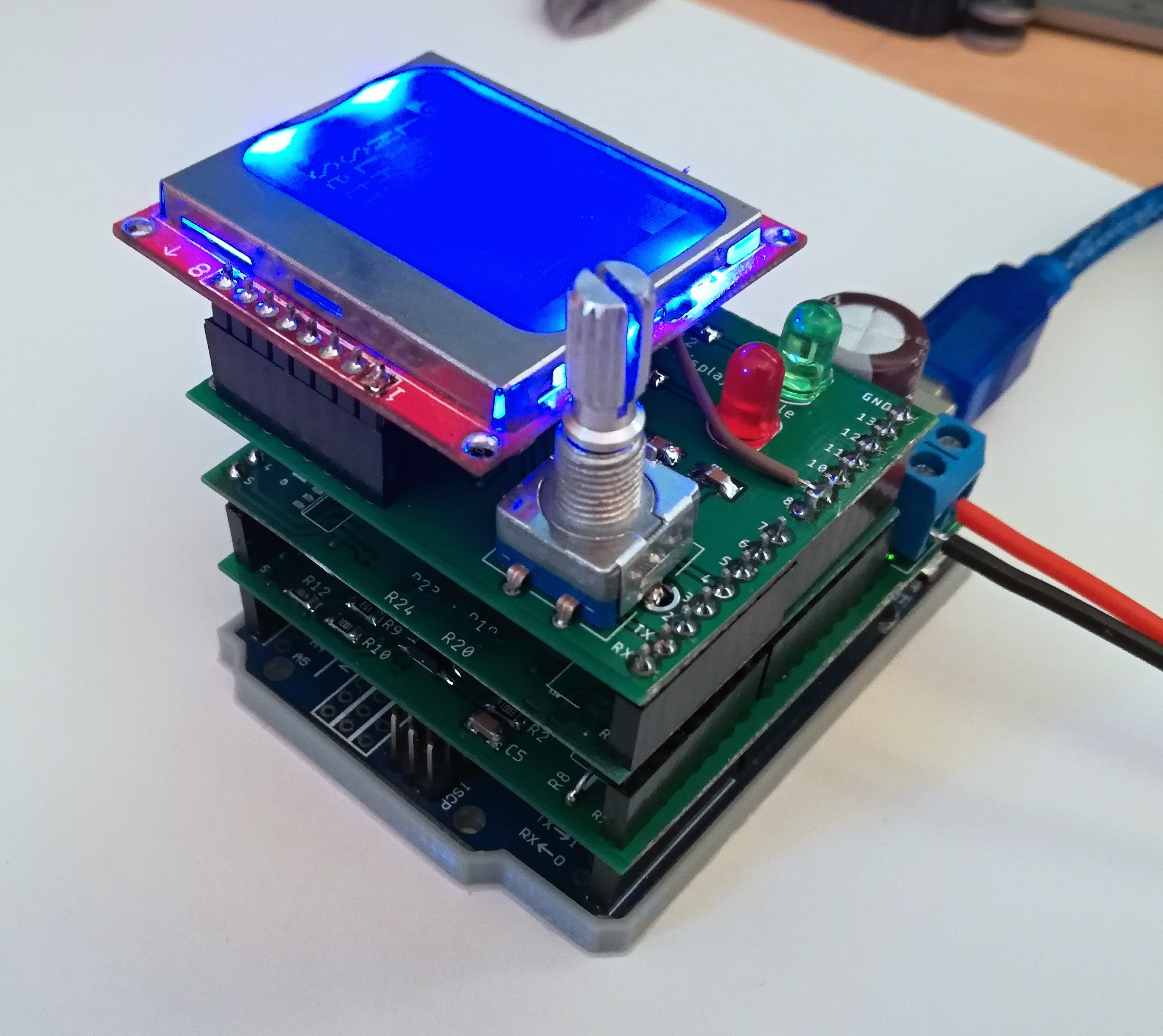 Arduino Universal Battery Charging Shield update