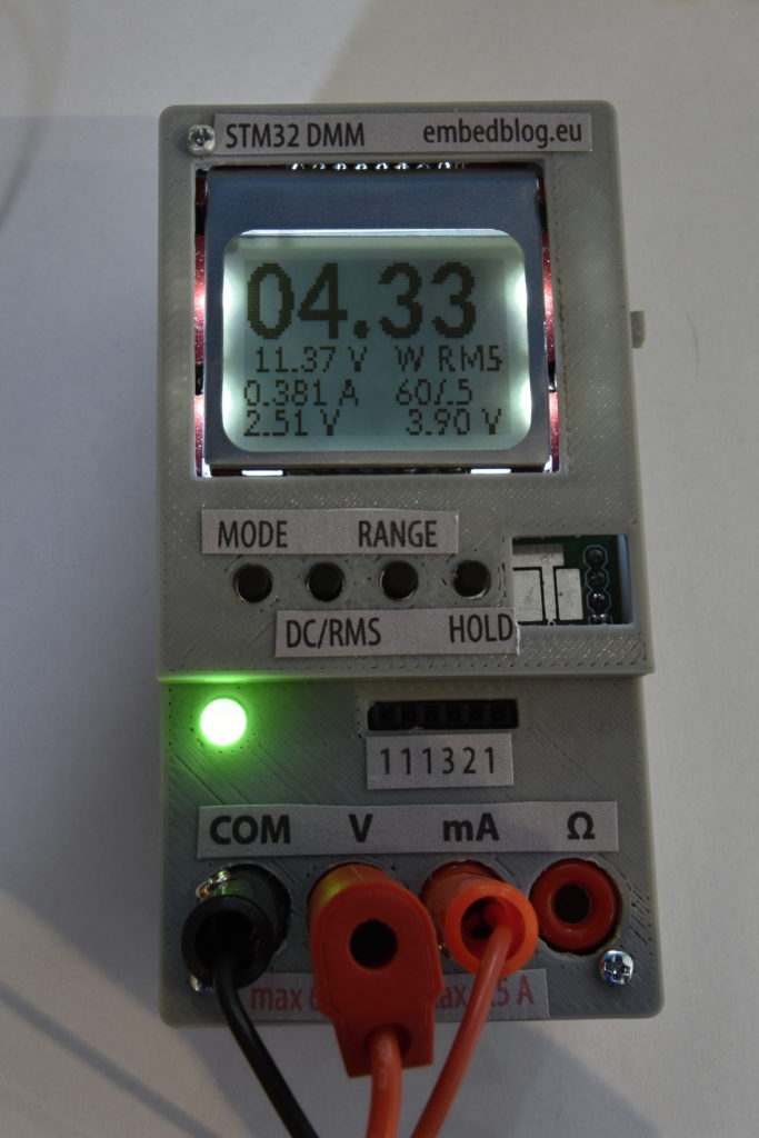 STM32 Open Source Multimeter – EmbedBlog